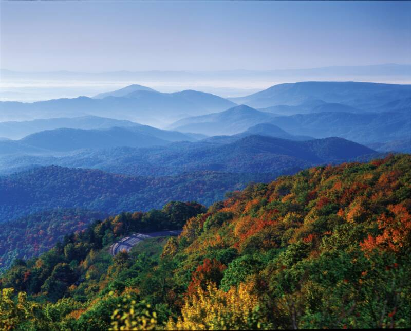 Blue Ridge Mountains 5 Regions Of Georgia